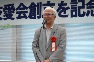 来賓挨拶 小林正夫民社協会会長